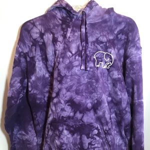 NWB Ivory Ella Tie Dye Purple hoodie sold out M